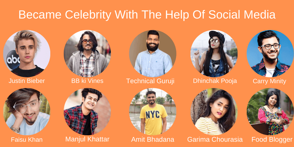Became Celebrity With The Help Of Social Media free digital marketing course