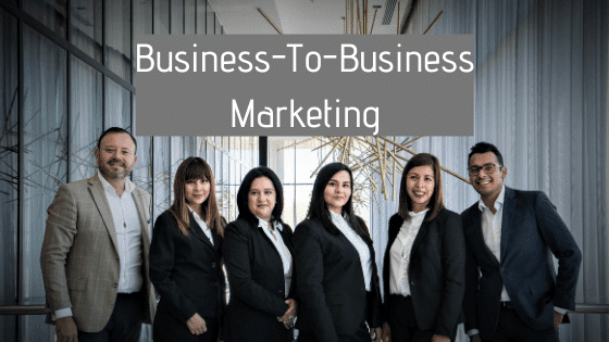 Business-To-Business Marketing module in free digital marketing course