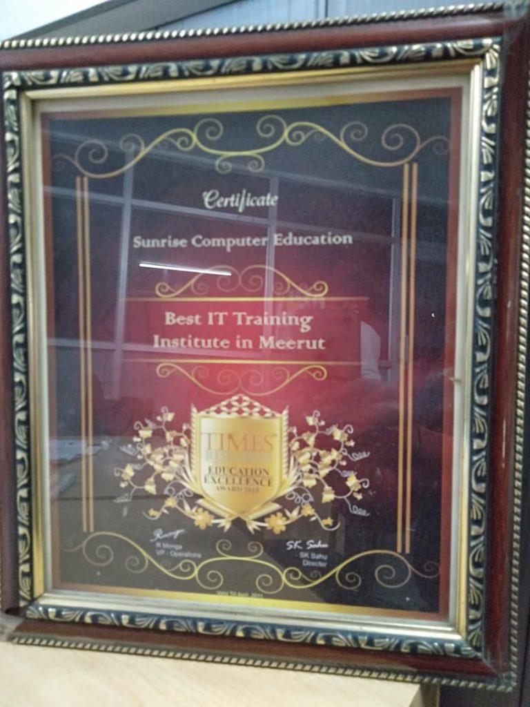 Best It award winning Institute in Meerut